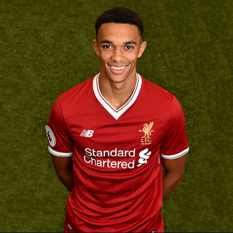 Trent Alexander-Arnold's Signed Limited Edition 'Seeing is Believing' 17/18 Liverpool FC Shirt