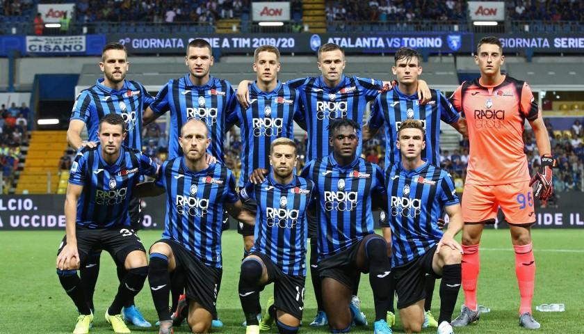 Official Atalanta Signed Shirt, 2019/20