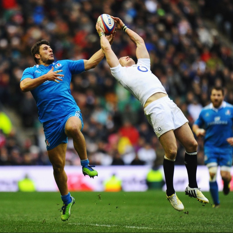 Giambattista Venditti's FIR Rugby Shorts and Socks