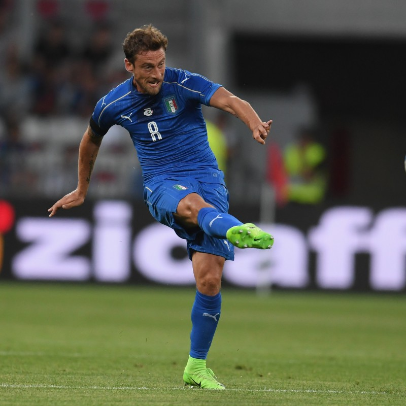 Marchisio's Match Shirt, Uruguay-Italy 2017 - Last Match