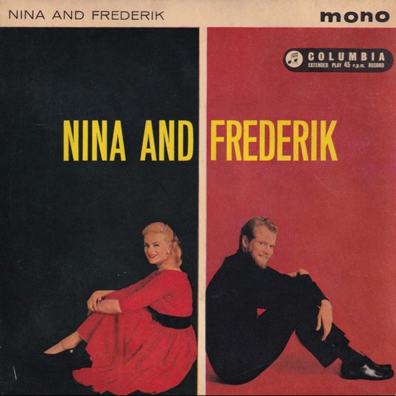 """""""Man Man is for Woman Made"""" Vinyl Single - Nina and Frederik, 1961"""