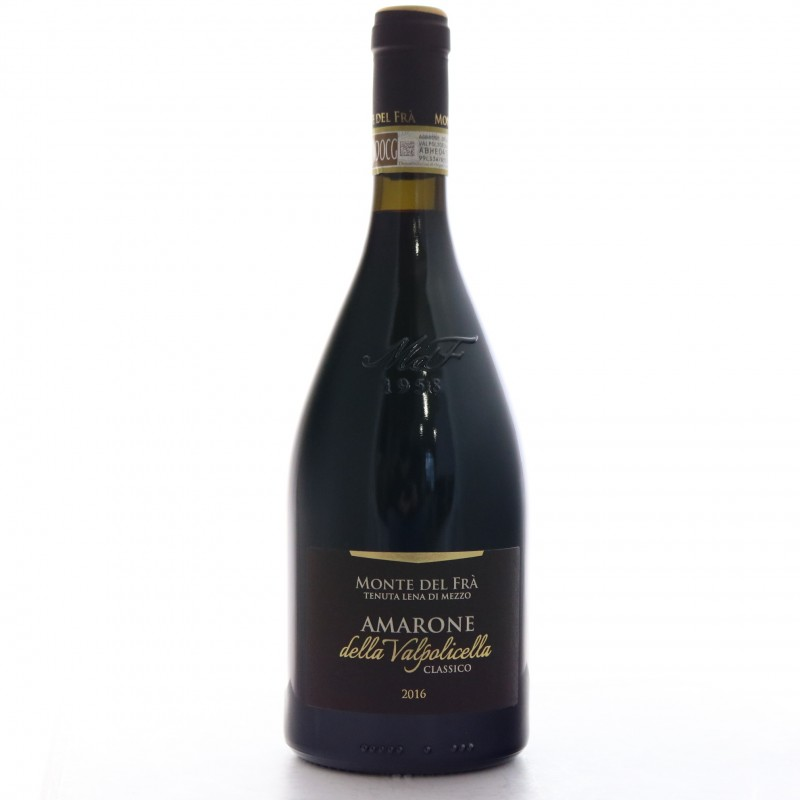 Bottiglia Amarone Valpolicella Monte del Fra' 2016
