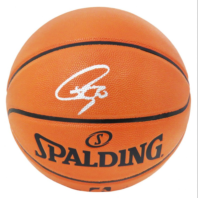 Stephen Curry Signed NBA Game Series Basketball