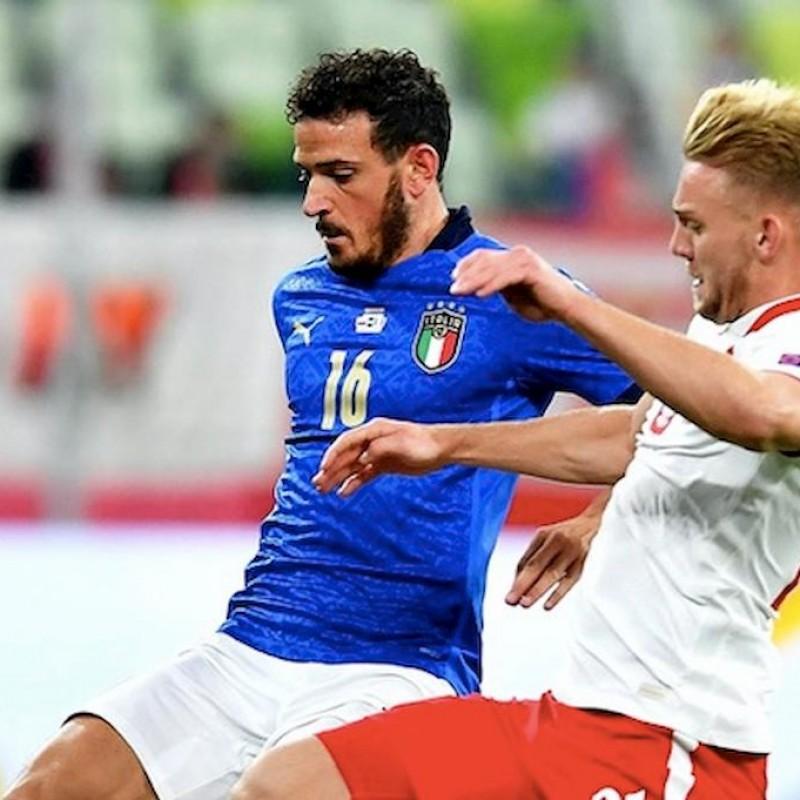 Florenzi's Match Shirt, Poland-Italy 2020