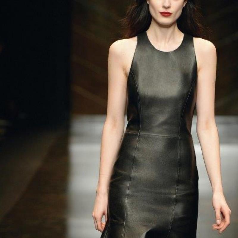 Attend the Trussardi show during Milan Fashion Week