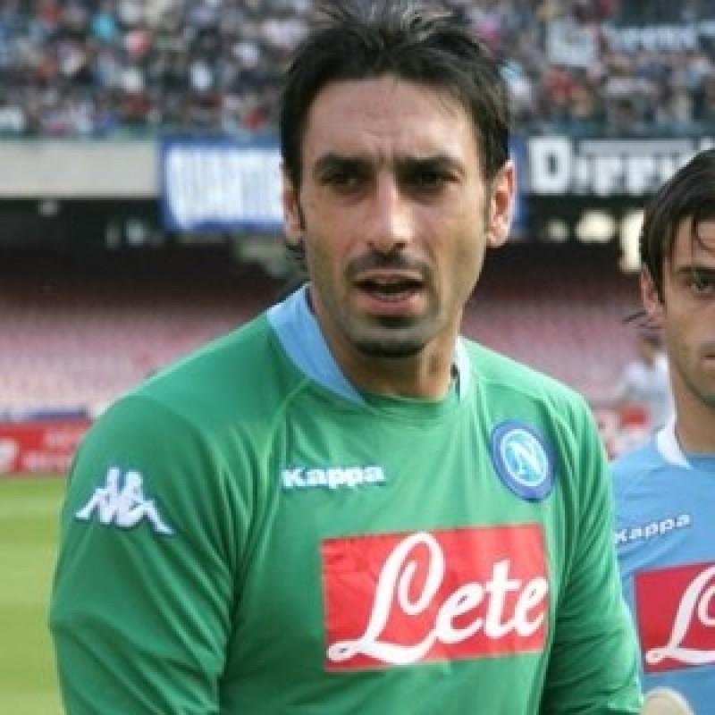 Iezzo's Napoli Worn Shirt, 2005/06 Season