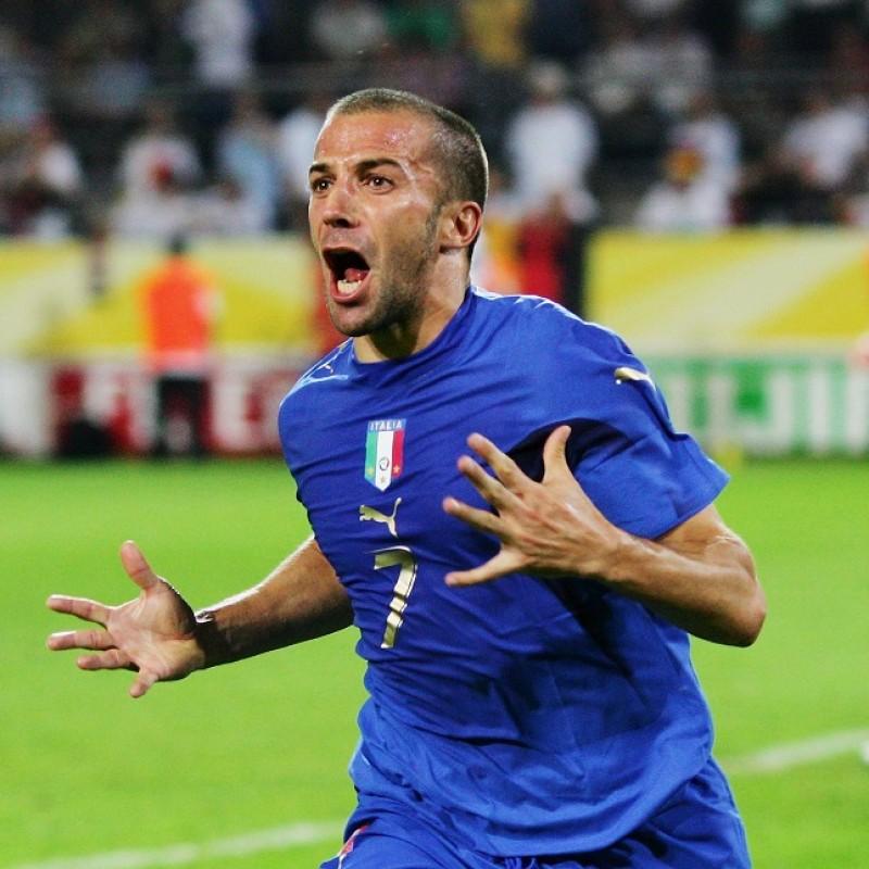 Celebratory Italy Track Jacket Signed by Del Piero
