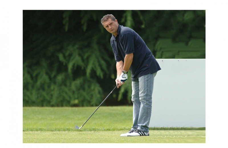 A Game of Golf with Daniele Massaro