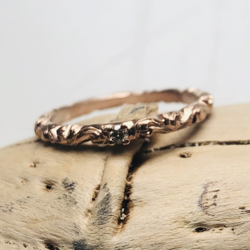 Grazia Eternity Ring in 9kt Pink Gold