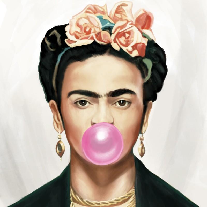 """Frida Kahlo Bubble Gum"" di Thomas Hussung"