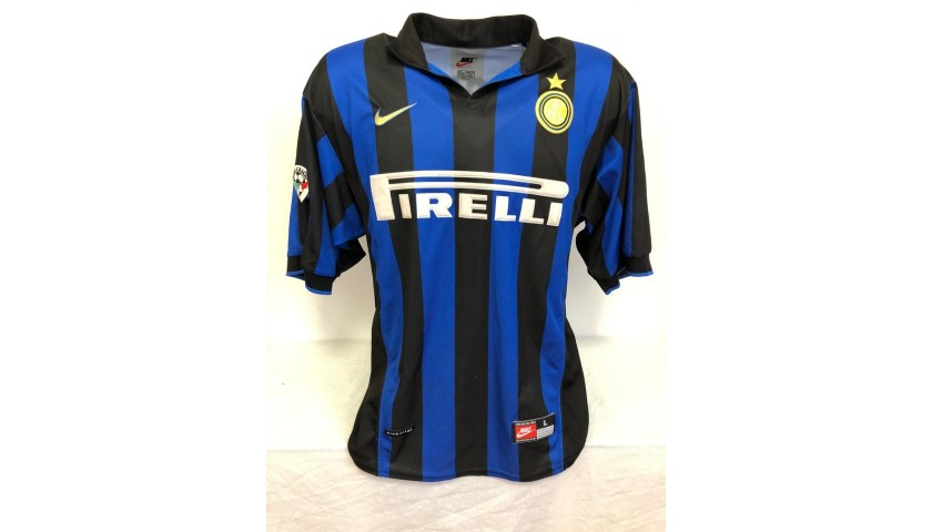 Baggio's Official Inter Signed Shirt, 1998/99