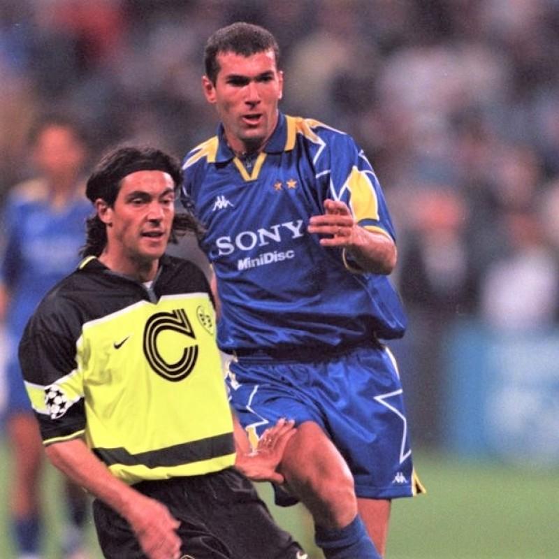 Zidane's Juventus Match Shirt, 1996/97