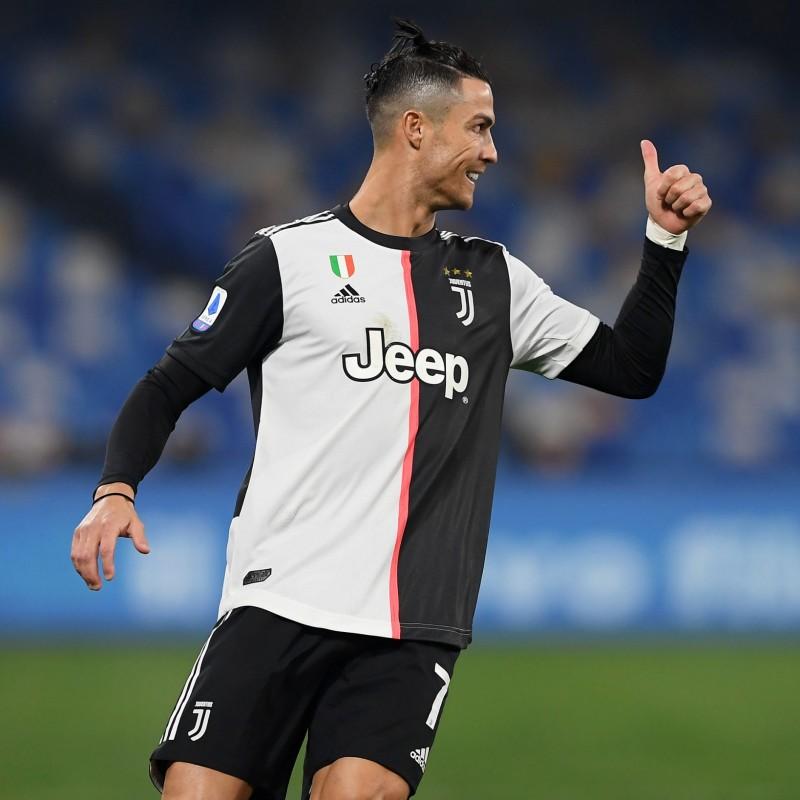 Maglia gara Ronaldo Juventus, Serie A 2019/20 - Autografata
