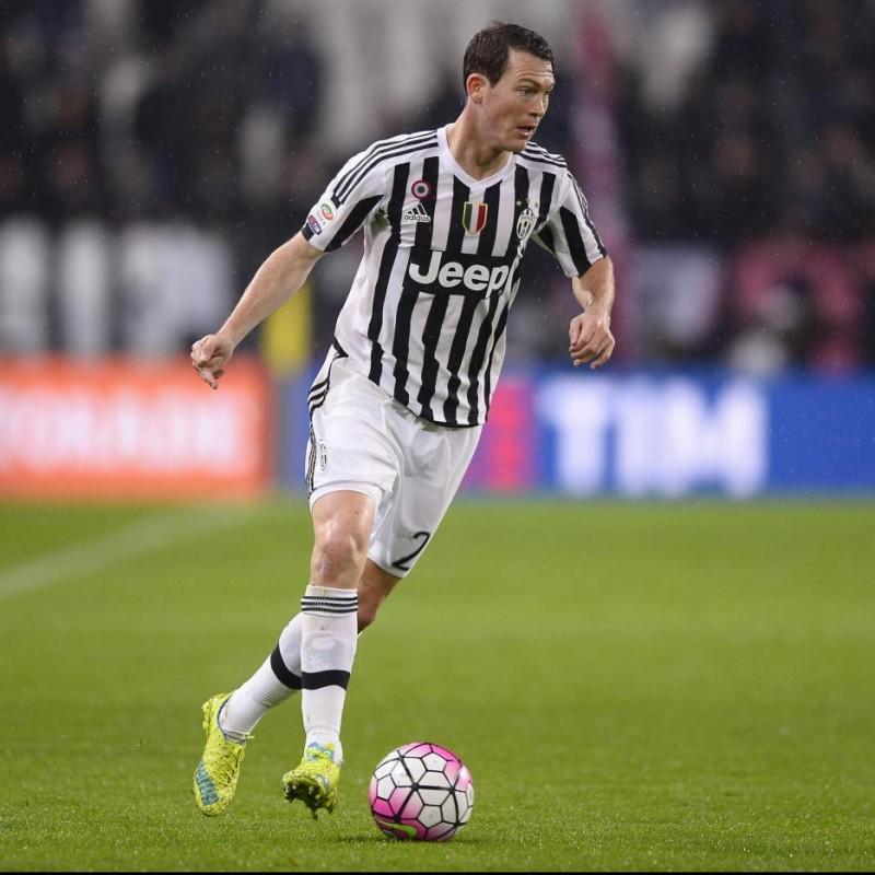 Maglia gara Lichtsteiner Juventus, Serie A 2015/16