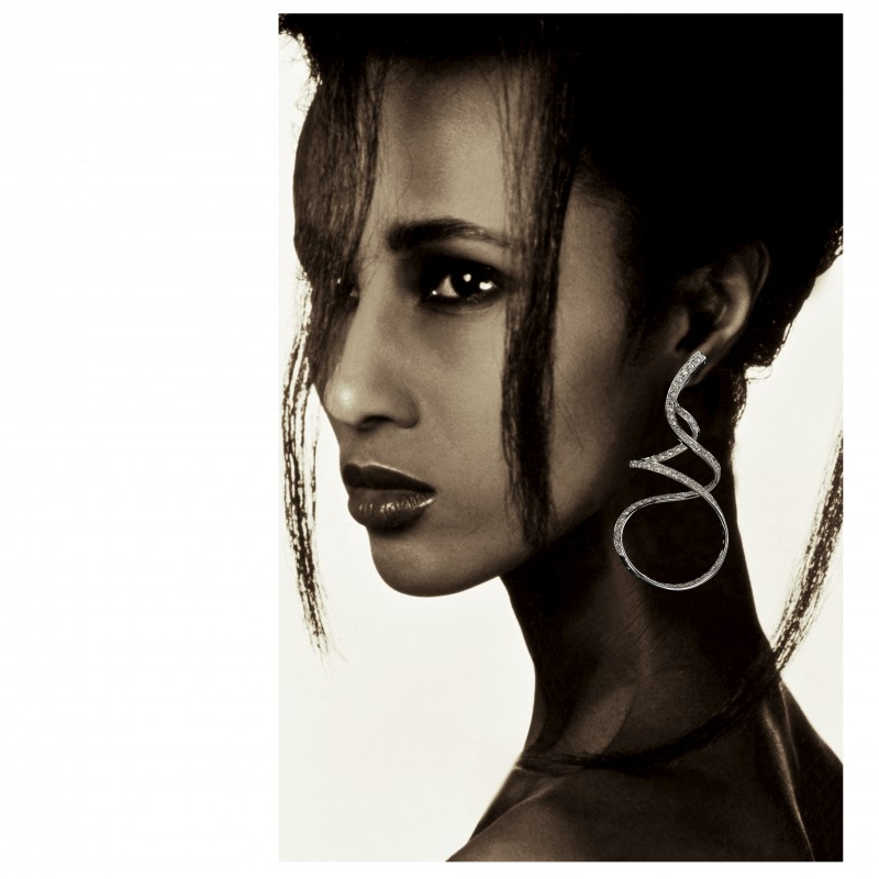 Exclusive Sandra Dia earrings - SCAVIA JEWELS Value 27000,00 Euro