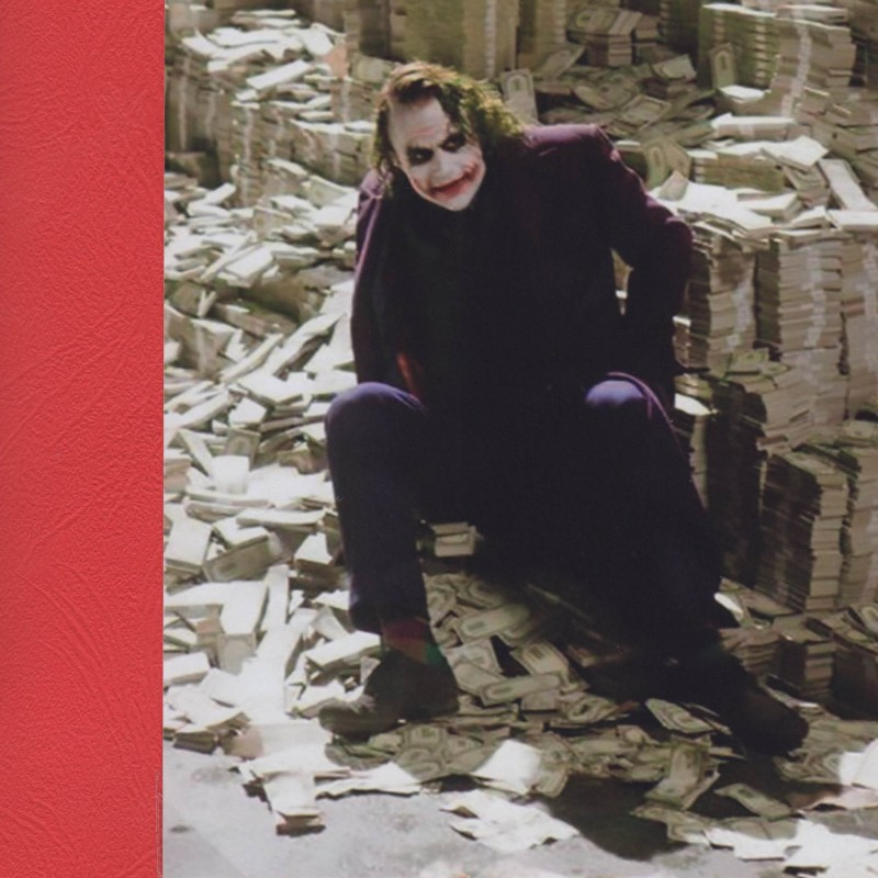 "Prop money used in ""The Dark Knight"" movie"