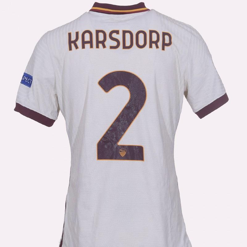 Karsdorp's Worn Shirt, Shakhtar Donetsk-Roma EL 20/21