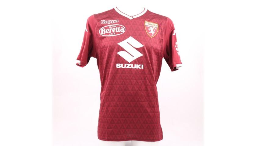 De Silvestri's Torino Worn Shirt, Serie A 2018/19