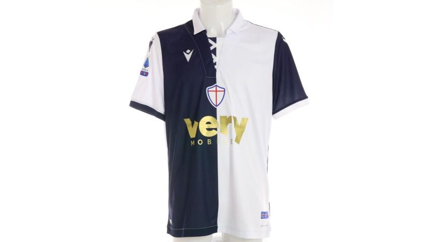 Ekdal's Worn Kit, Sampdoria-Milan 2020, SPECIAL 120 Years Andrea Doria