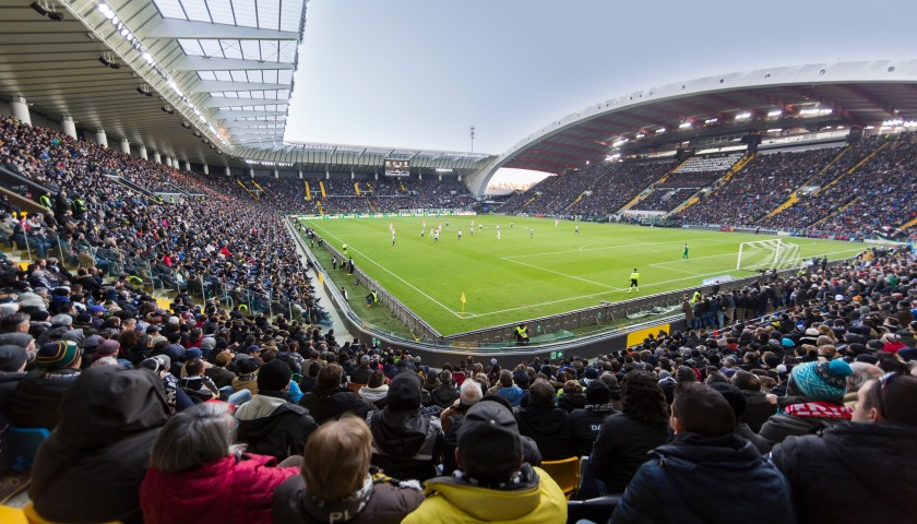 2 Manager Club Tickets + Walkabout for Udinese-Inter #2