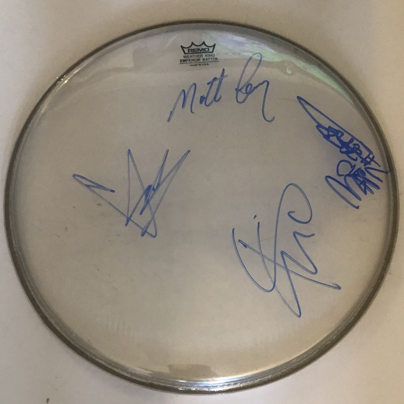 Chris Cornell Soundgarden Fully Signed Drumskin