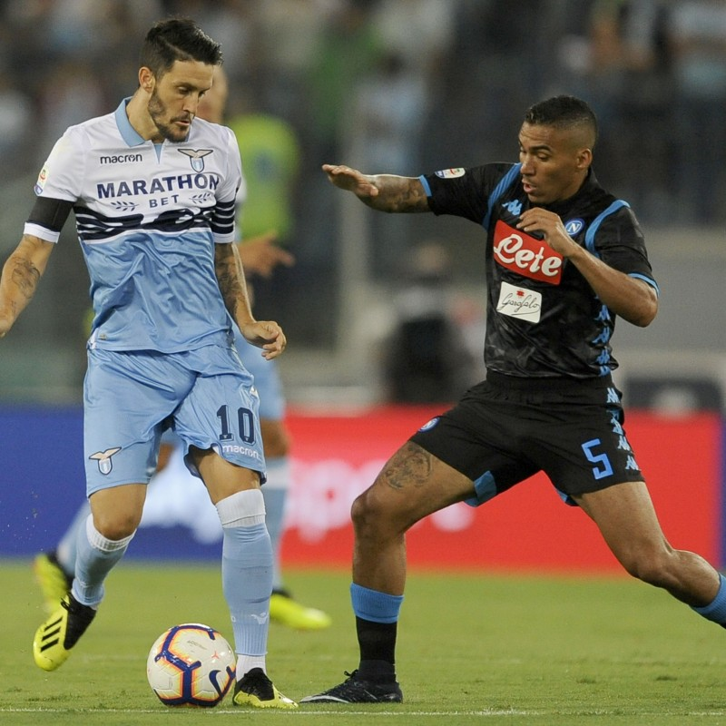Allan's Worn Shirt, Lazio-Napoli 2018