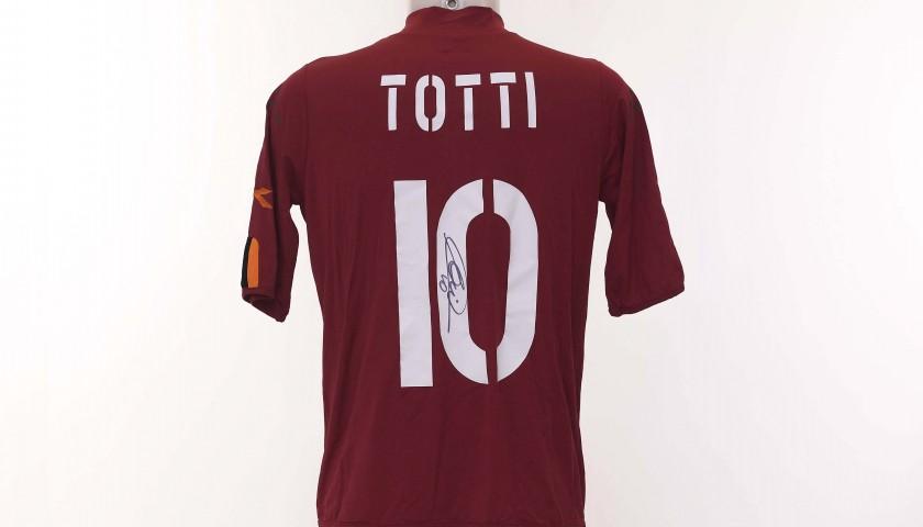 Francesco Totti's AS Roma Signed Shirt, 2003/2004