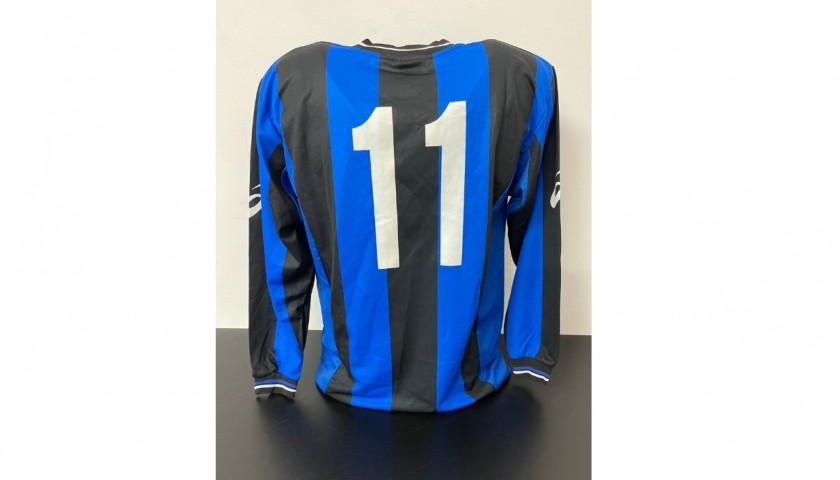 Pazzini's Atalanta Youth Match Shirt, 2002/03