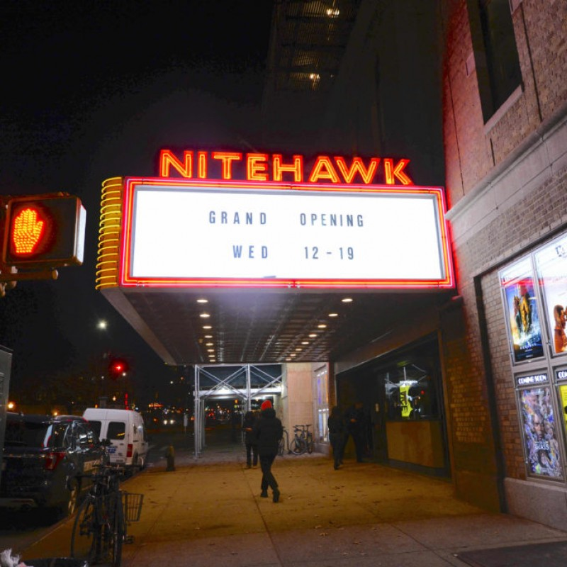 Brooklyn's Nitehawk Cinema: Movie & Dining Experience