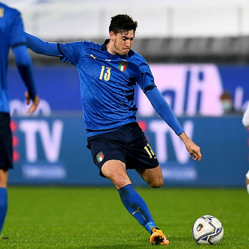 Bastoni's Match Shirt, Italy-Estonia 2020