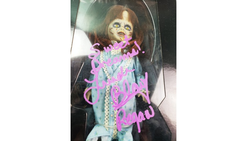 """Linda Blair """"The Exorcist"""" Hand Signed Doll"""