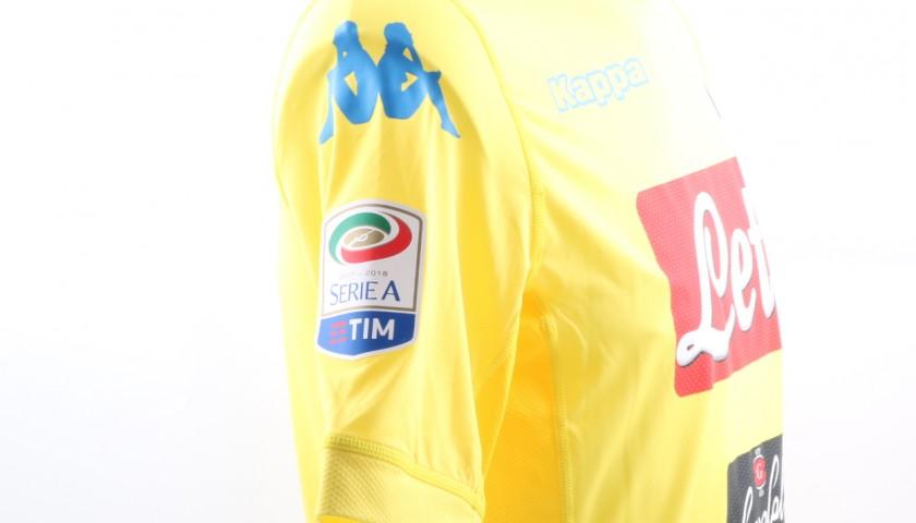 Mertens' Signed, Issued 2017/18 Napoli Shirt
