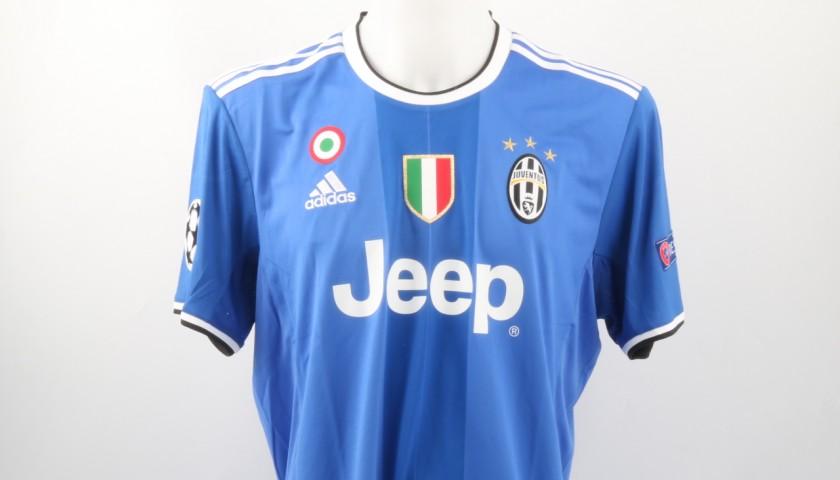 Official Rugani Juventus Shirt, Champions League 2016/17 - Signed - CharityStars