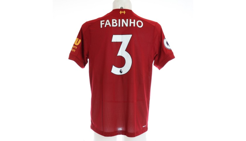 Fabinho's Issued and Signed Limited Edition 19/20 Liverpool FC Shirt