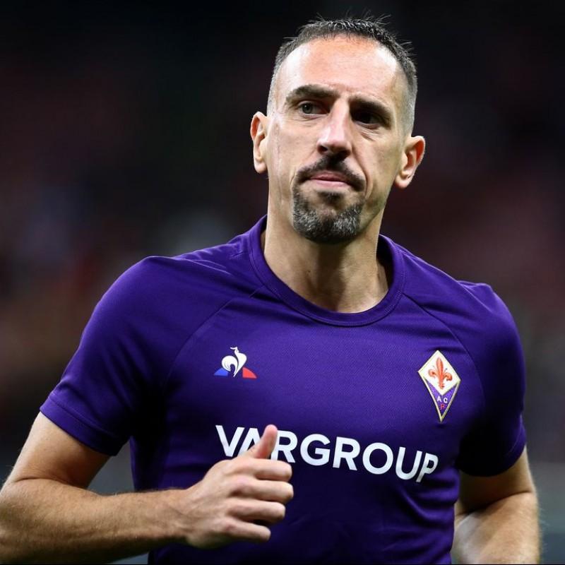 Ribery's Fiorentina Signed Match Shirt, 2019/20