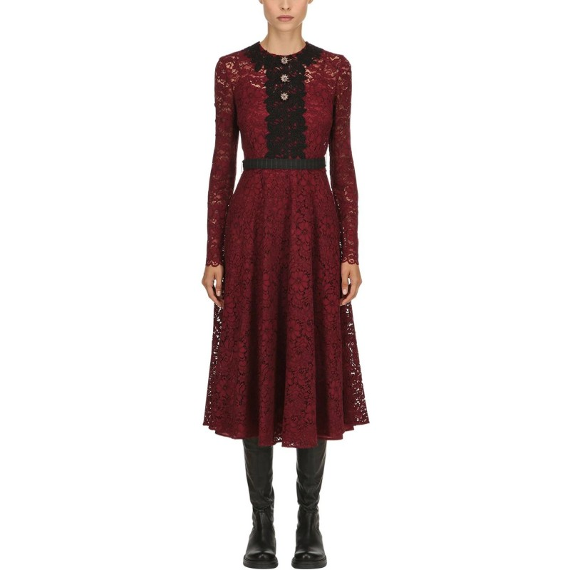 Antonio Marras Macrame Lace Dress