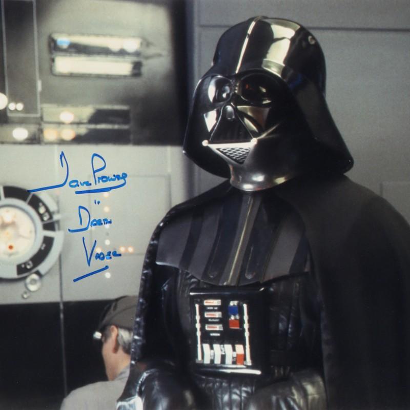 "David Prowse ""Darth Vader"" Signed ""Star Wars"" Photograph"