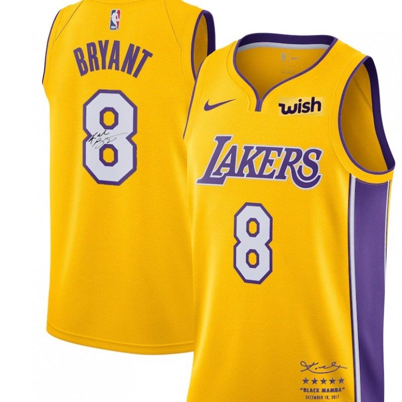 Kobe Bryant Jersey with Digital Signature