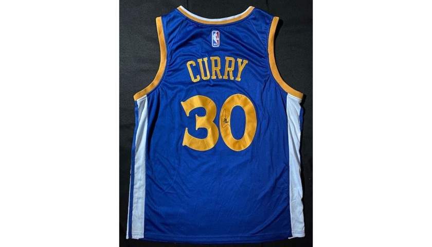 Steph Curry Golden State Signed Jersey