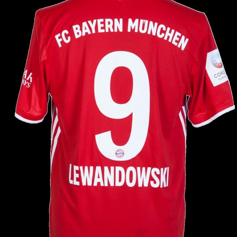 Lewandowski's Bundesliga Match Shirt