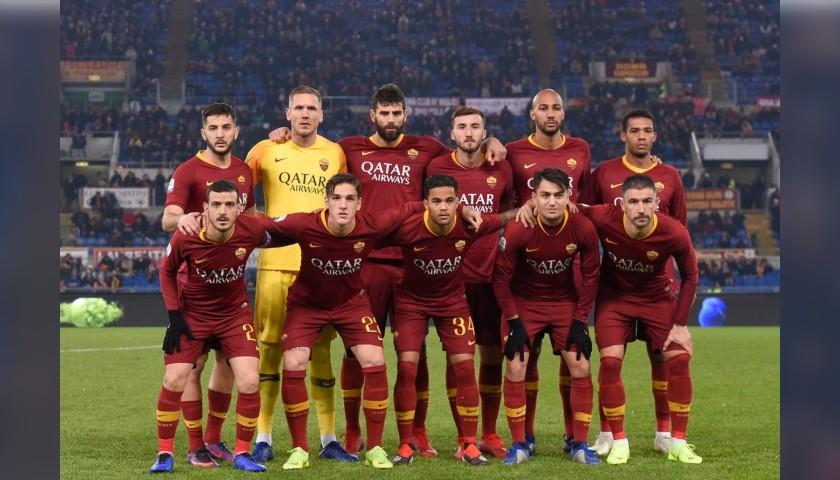 Marcucci's Worn Shirt, Roma-Genoa 2018