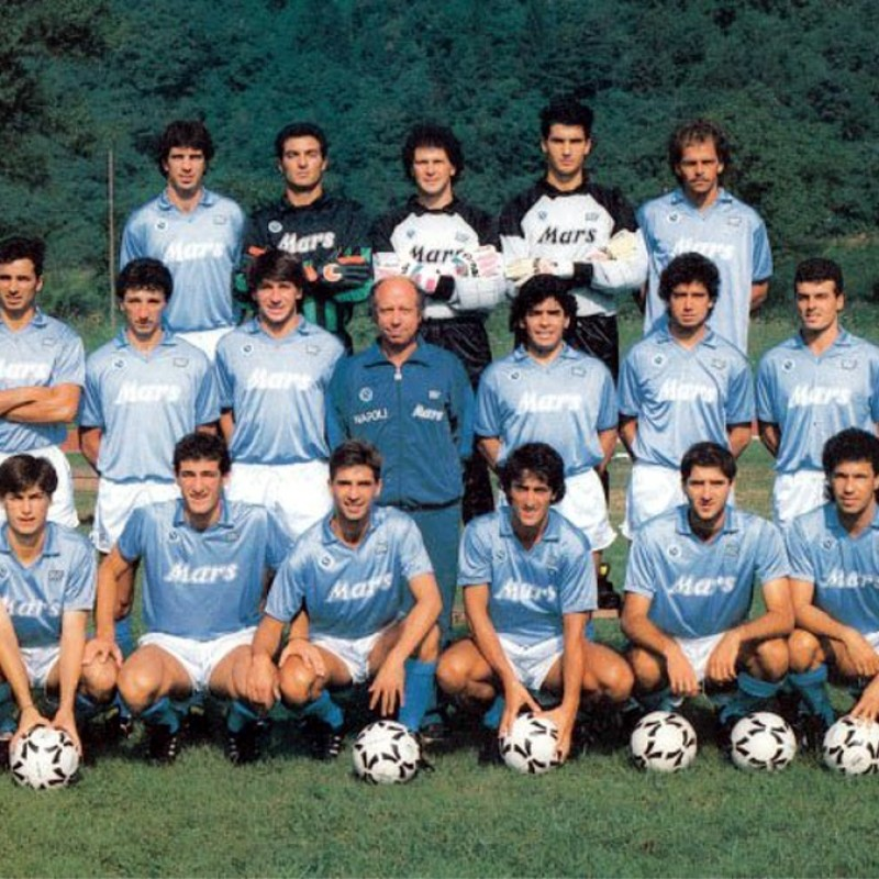 Renica's Napoli Match-Issue/Worn Shirt, 1988/89