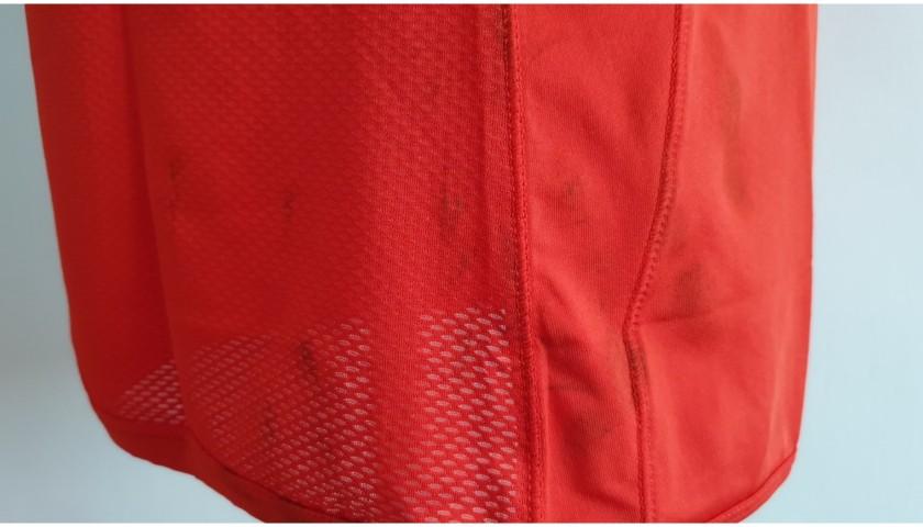 Hamsik's Napoli Worn and Signed Shirt, 2015/16 - Unwashed