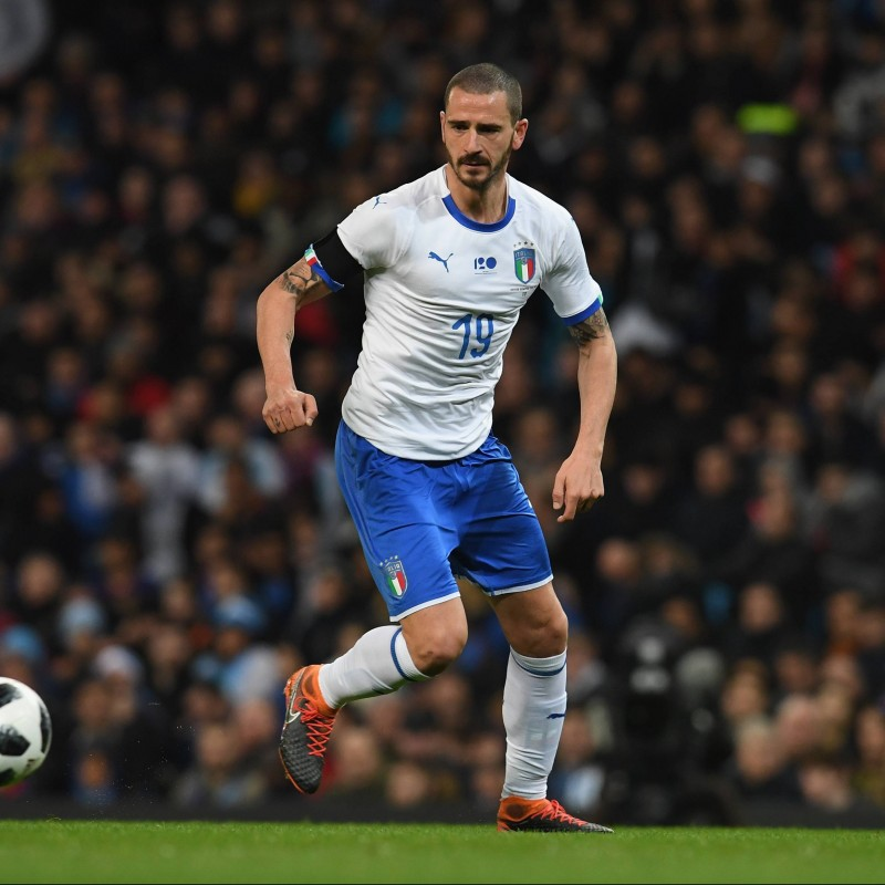 Bonucci's Match Shirt, Portugal-Italy 2018