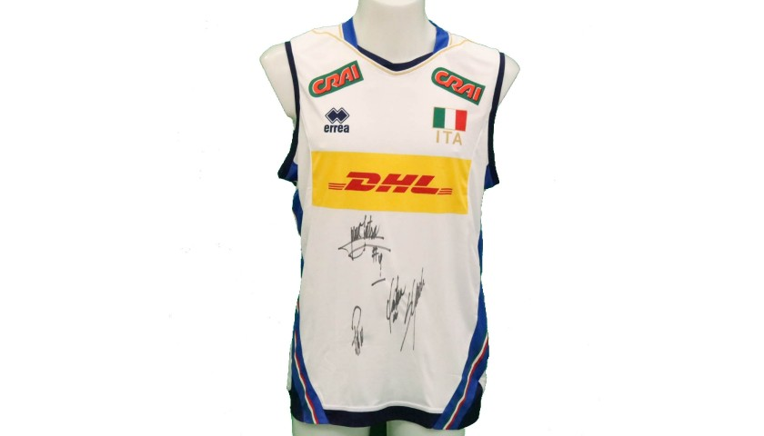 Official Italy Volleyball Signed Shirt, 2018