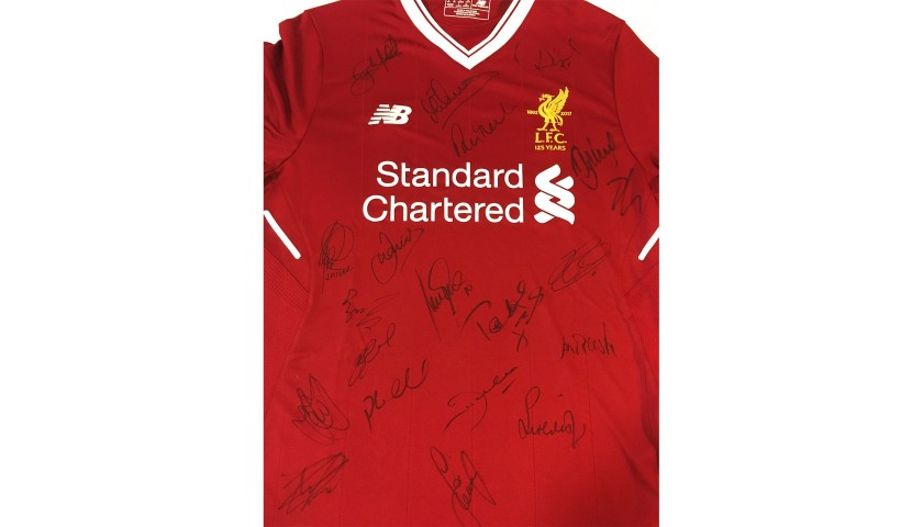 91ef2d232 LFC Legends Charity Match 2018 Squad Shirt - CharityStars