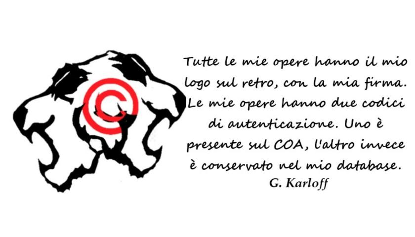 """""""G.Karloff Vs Banksy The Child"""" Original Limited Edition Board by G.Karloff"""