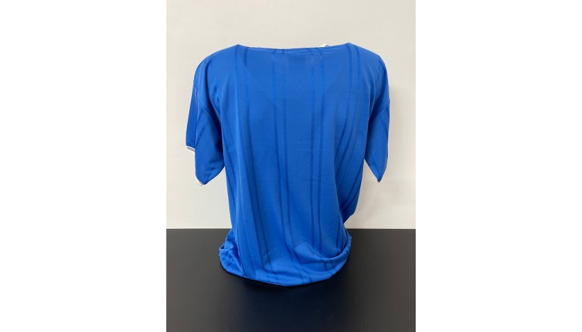Official Everton Shirt, FA Cup Final 1984 - Signed by Andy Gray