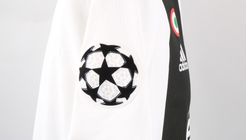Ronaldo's Juventus Signed Match Shirt, UCL 2018/19
