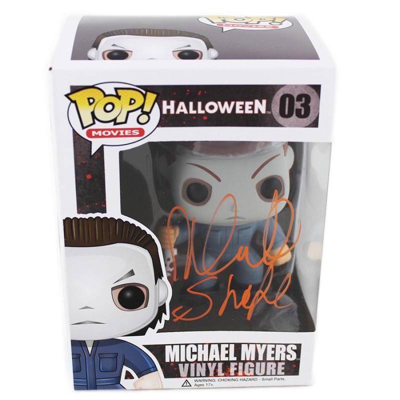 "Nick Castle ""Michael Myers"" Signed Halloween Funko Pop!"